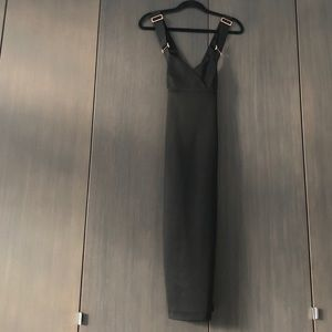 Ted baker London bodycon dress black